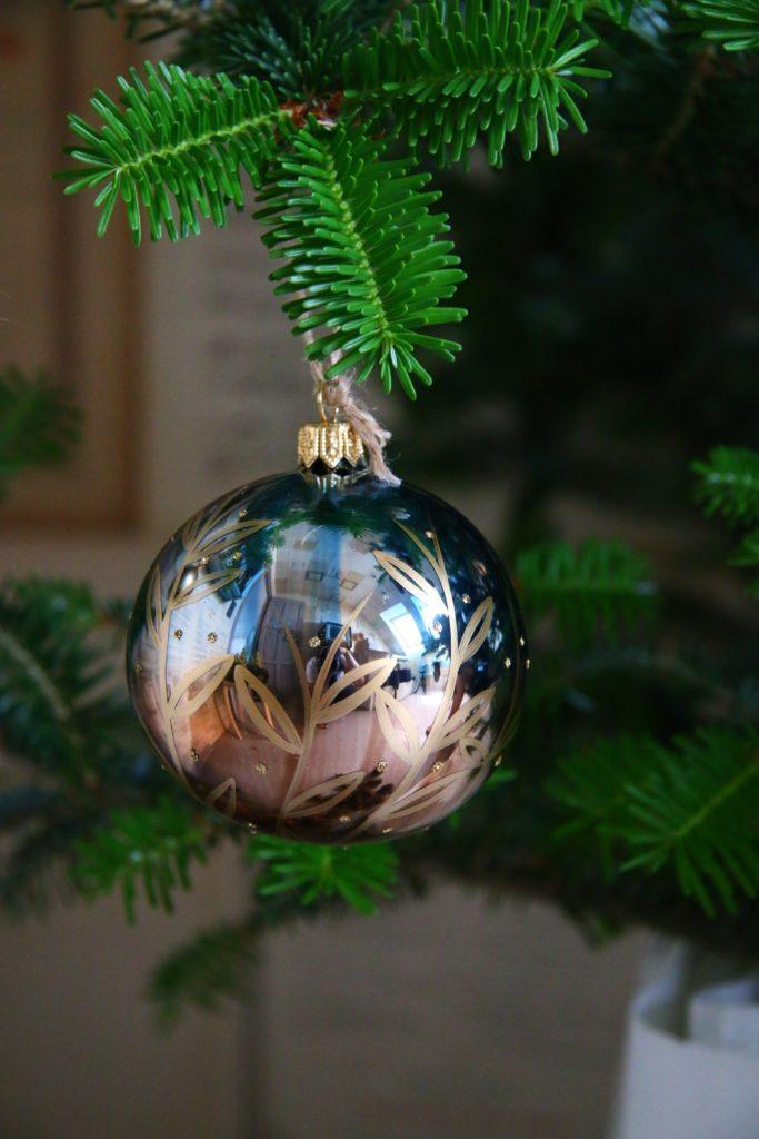 Vánoční ozdoba z kolekce zázraky přírody.